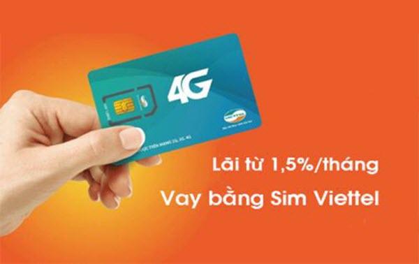 Vay tiền bằng SIM Viettel tại Hà Nội