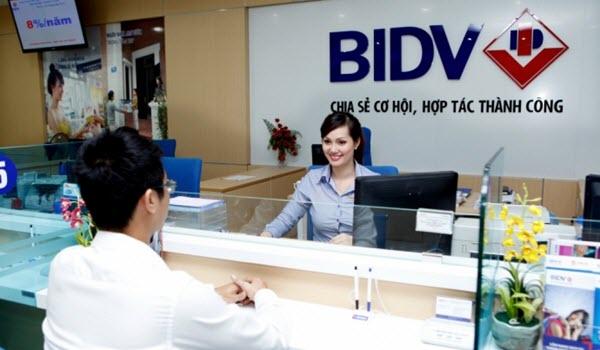 Vay tín chấp BIDV, lãi suất CẠNH TRANH, khoản vay LỚN